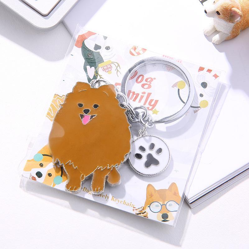 Carro Creative Pet Presente Bomei Dog Metal Chaveiro