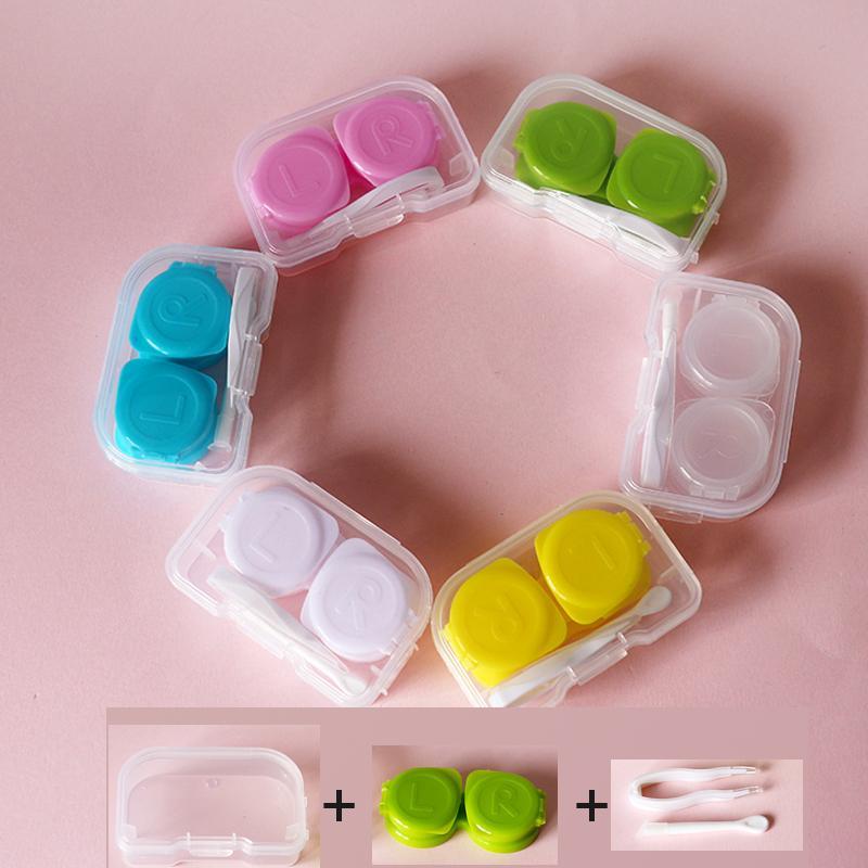 송료 무료 / 7-10days가 미국 / 콘택트 렌즈 상자 / 콘택트 렌즈 케이스 / 컬러 더블 박스 / 콘택트 렌즈 케이스 /