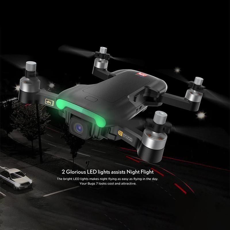 ZWN Bugs Bugs 7 B7 GPS Drone Quadcopter с 4K Видеокамера RC Quadrocopter GPS Smart Следуя Multicopter VS E520S SG907
