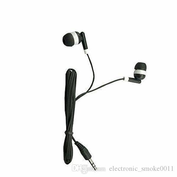 dhl free Wholesale Kids Bulk Earbuds Headphones Earphones 100 Pack Black Color For Schools for School Classroom students