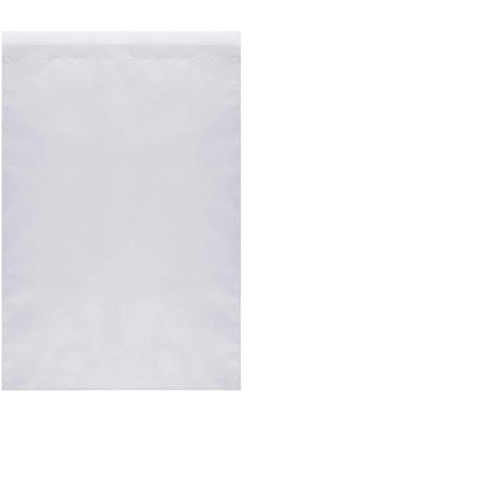 2021 12x18 Double face 3 couches, bricolage blanche blanc plain blanc drapeaux de jardin, sublimation 30x45cm 100d polyester, livraison gratuite