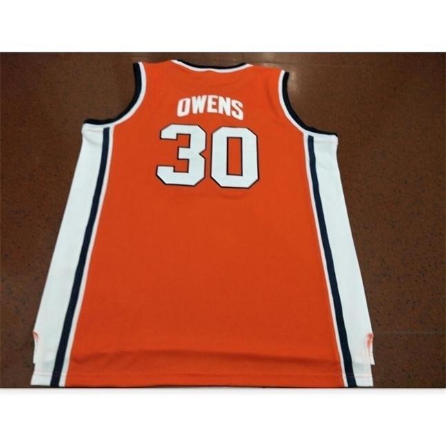 Goodjob Männer Jugendfrauen Vintage # 30 Billy Owens Washington Syrakus 1991 Basketball-Jersey Größe S-5XL oder benutzerdefinierte Name oder Nummer Jersey