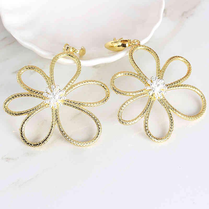 패션 보헤미아 여성들은 매달려 쥬얼리 선물에 대 한 매달려 럭셔리 웨딩 귀걸이