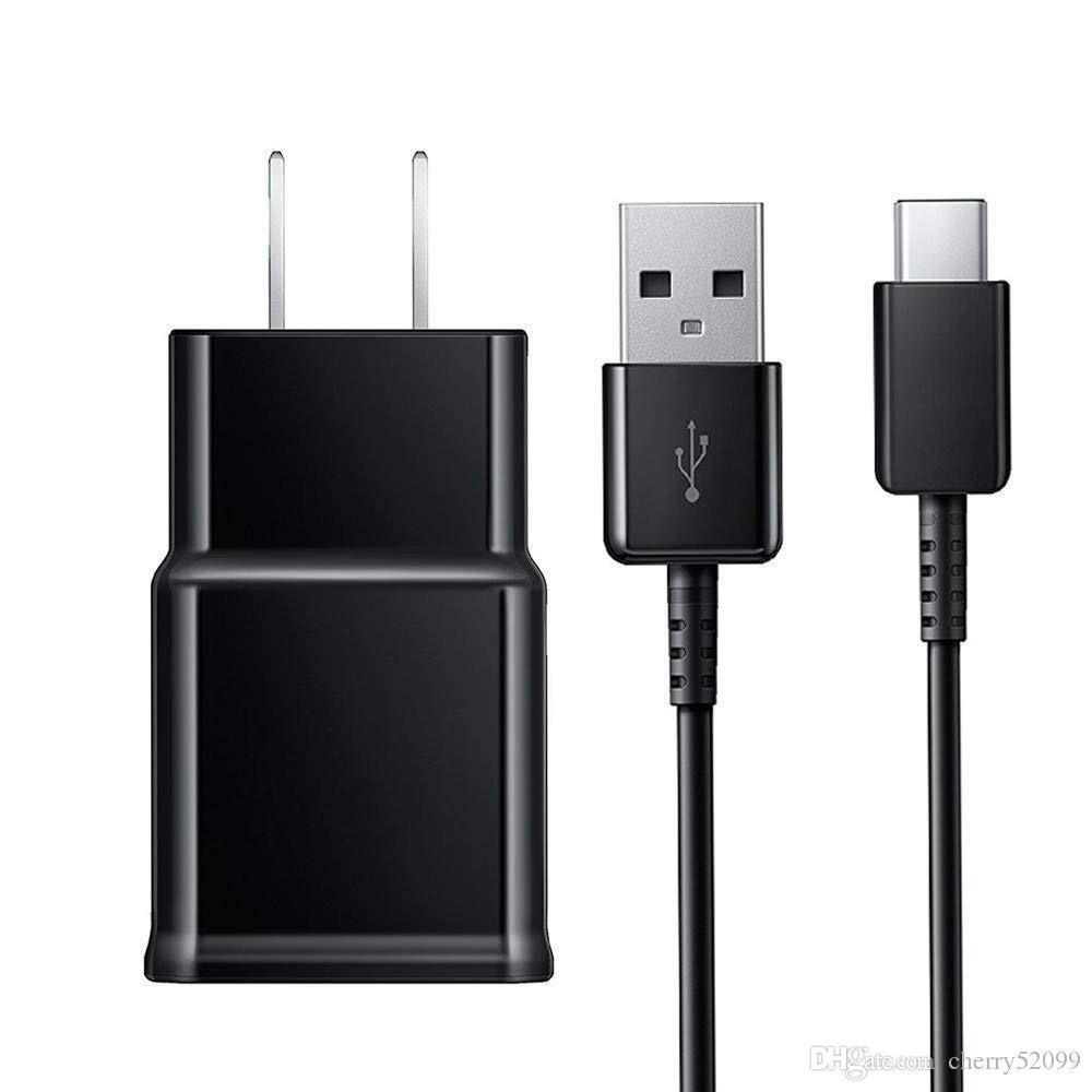5V 2A شاحن الجدار التكيفي السريع مع 1.2 متر نوع C كابل USB للهاتف المحمول الذكية الهاتف الروبوت