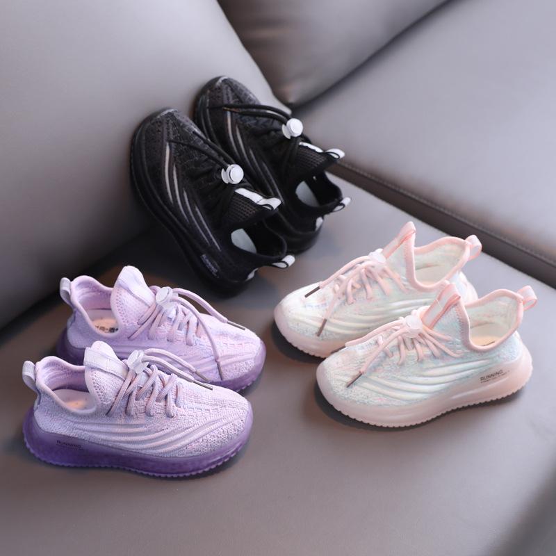 التجزئة / المصممين بالجملة أطفال أحذية رياضية الأطفال الصغار المدربين الأطفال أحذية رياضية بنين بنات كرة السلة الأحذية EUR 22-37