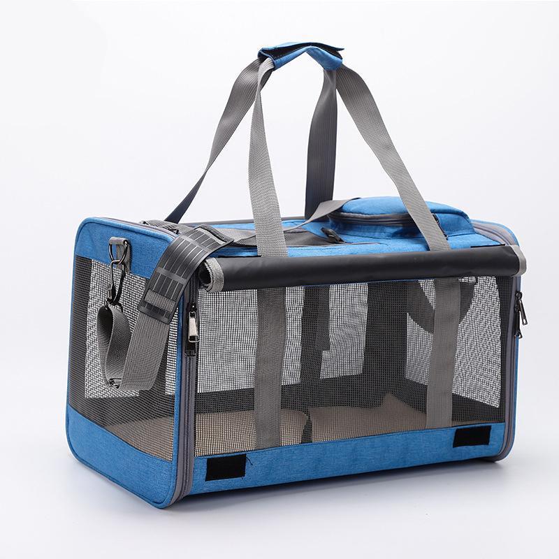 Hundeauto Sitzbezüge Sling Bag Träger Mesh Atmungsaktive große Kapazität Katze trägt Tragbare Mini Top Qualität Katzen