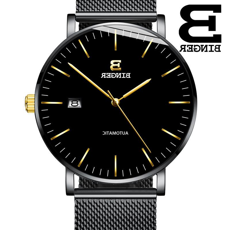 Switzerland Binger Mens Watches Brand Luxury Automatic Mechanical Men Casual Wrist Watch Male Sports Reloj Hombre B-5081