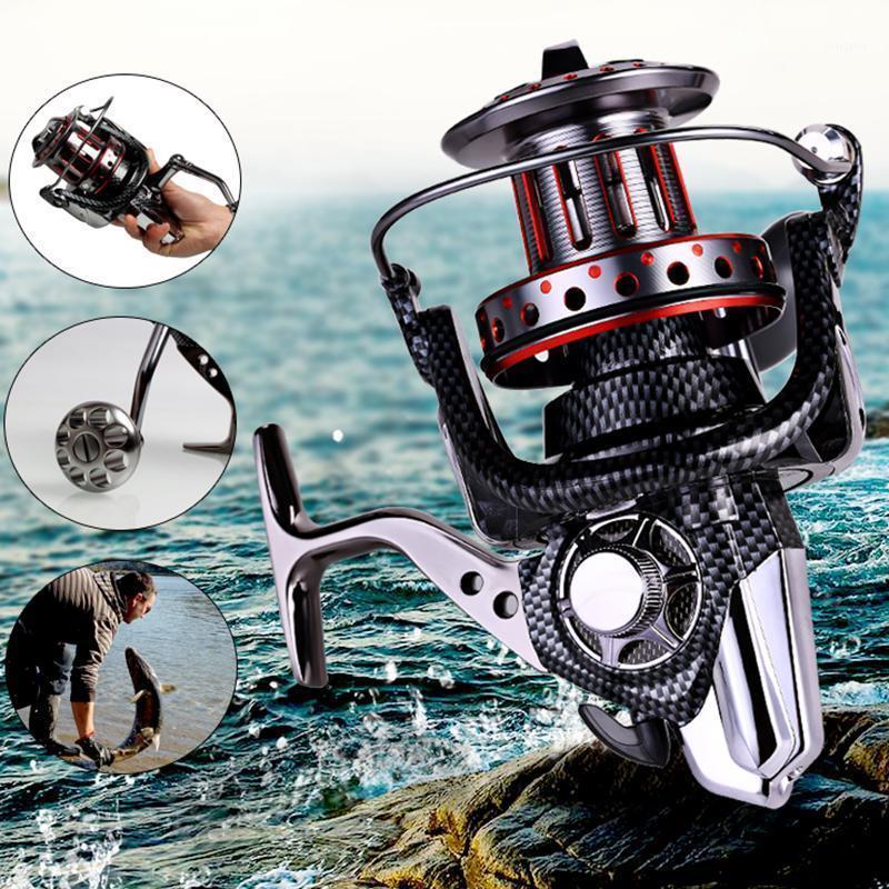 Baicasting Reels Lieyuwang 1000-12000 Roulement à billes CarreTilhas de Pesca 5 espèces 11 + 1BB Bobine de pêche à la pêche à la filature1