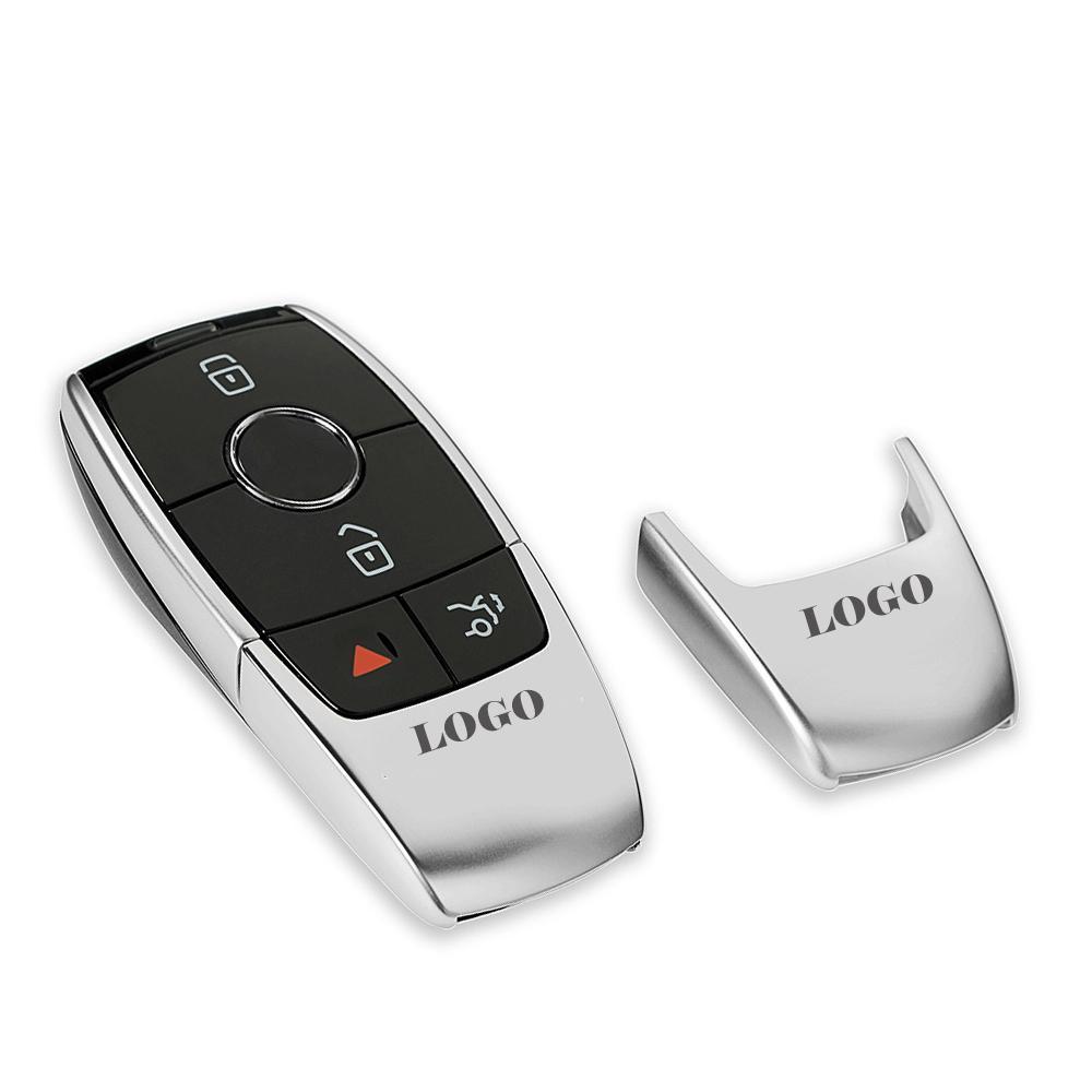 لمرسيدس بنز W212 W211 W213 W213 W205 W202 W202 W203 W204 W177 C63 E63 S63 ل AMG شعار سيارة البعيد مفتاح غطاء حالة قذيفة معدنية