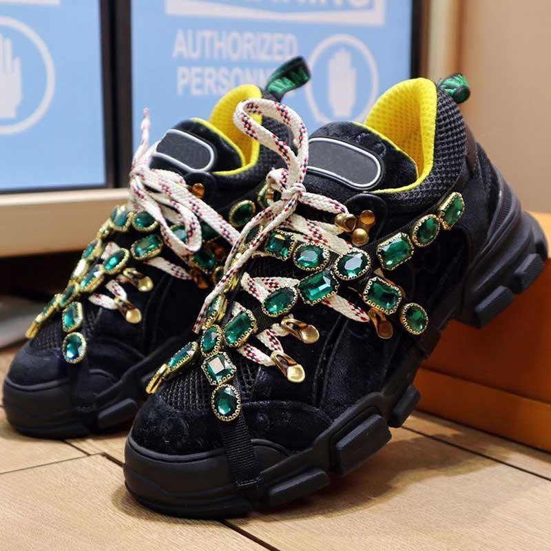 Yürüyüş Ayakkabıları Flashtrek Serisi Spor Ayakkabı 2021ss Yeni Renk Varış Moda Sneakers Elmas Üst Erkek Sneakers Kaymaz Tek En Kaliteli
