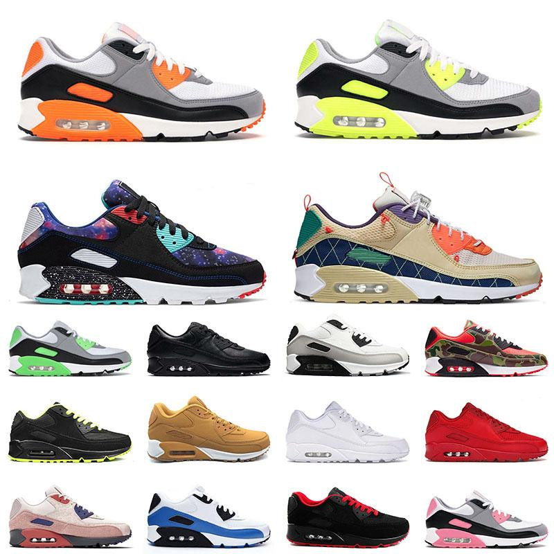 max 90 90s off white 2021 Top 90s Sport Running Shoes All White Moss Green Grey Trainers Orange Blue Camo Uomo Donna Off Tennis Sneakers