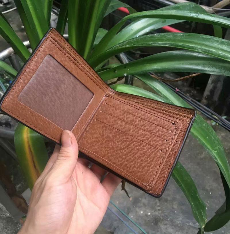 Top Quality Mens Wallet free shipping Men's Leather With Wallets For Men Purse Fashion Men Wallets With Box