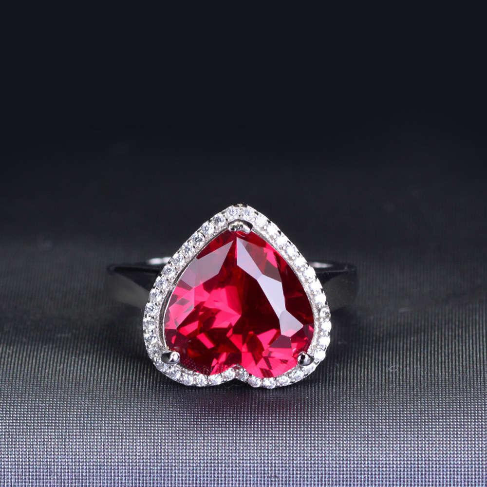 HBP Luxus Neue Koreanische einfache Temperament Mode Zirkon Herz Ring Damen Zubehör