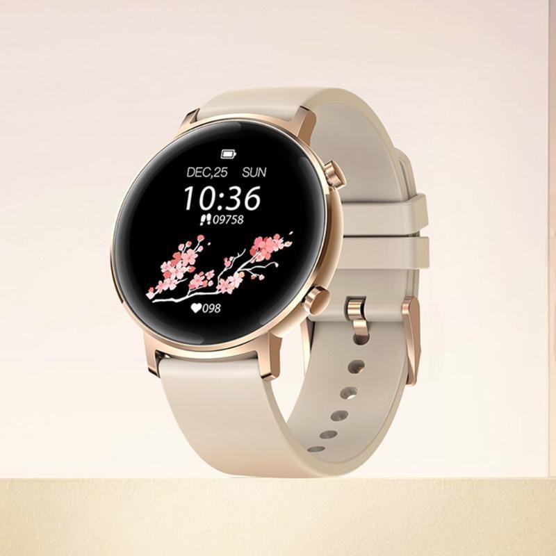 Smart Watches GTR Frequenza cardiaca Pressione sanguigna SmartWatch Body Metal Bood 10 Professional Sports 30 Days Battery Life Watch Guarda