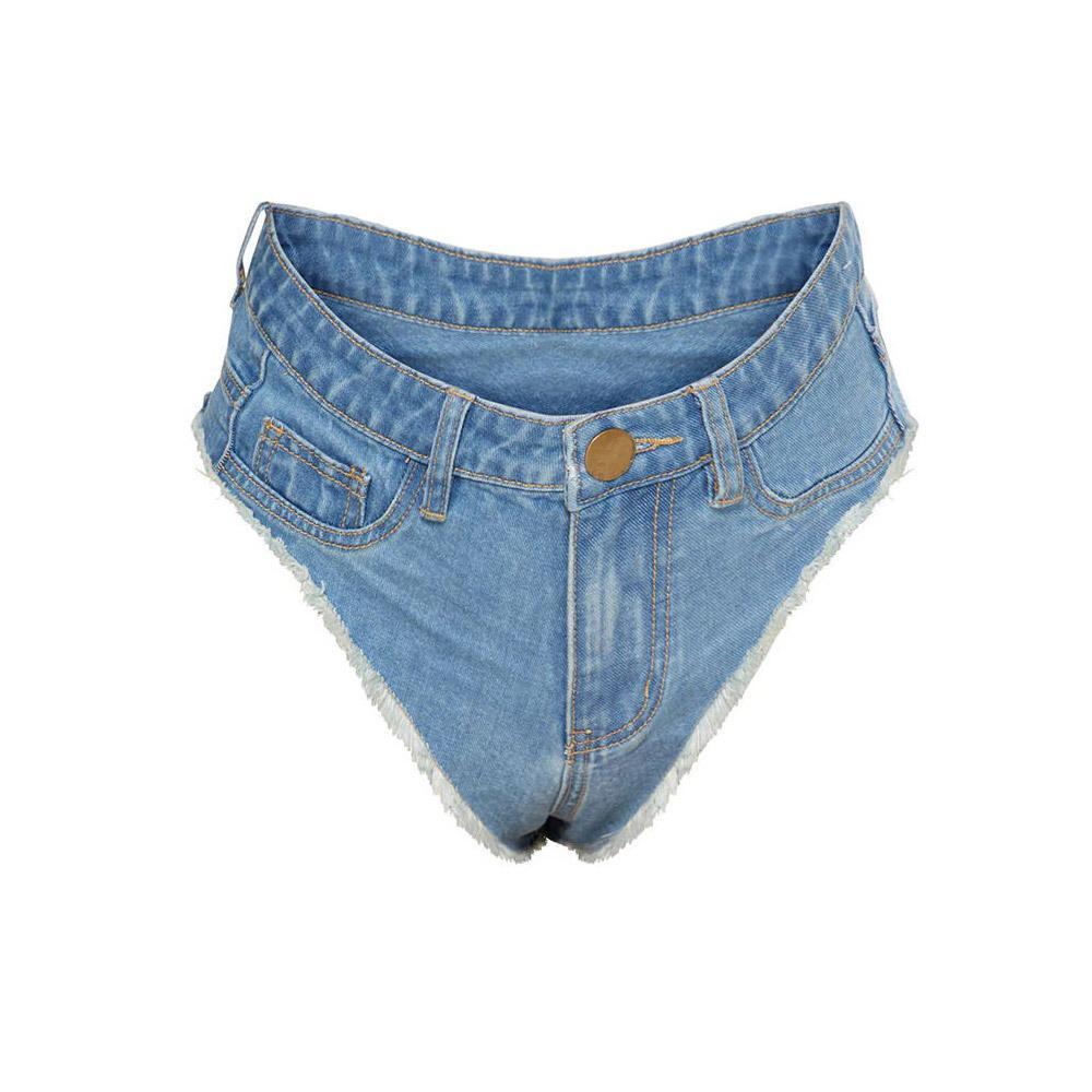 2020 sexy vintage mini jeans corto pantaloncini bottino carino bikini denim corto caldo sexy club partito partito bikini fondo