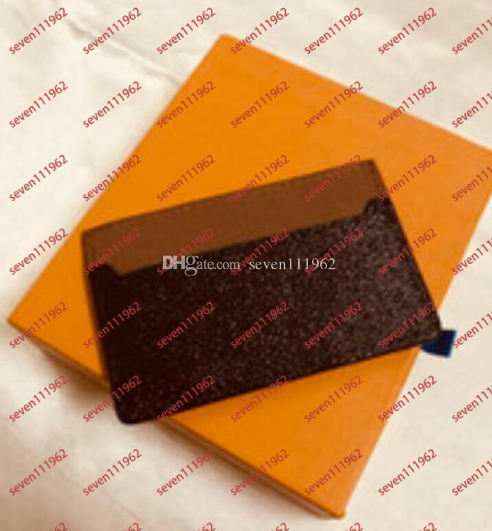 Европейский стиль 2020 Hot Designer Wallet Carders Держатели карты Подробнее Письмо Credit Mens и Womens Wallet Кошелек для монет