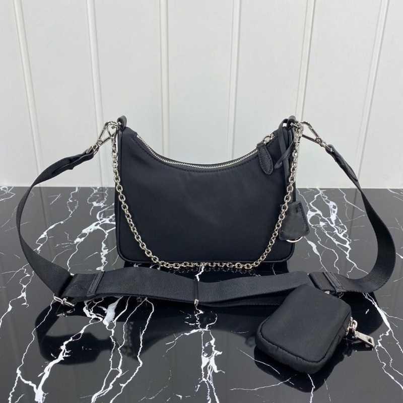 Designer Taschen Leinwand Hobo Schulter Frauen Brust Pack Lady Tote Ketten Presbyopische Geldbörse Messenger Handtaschen