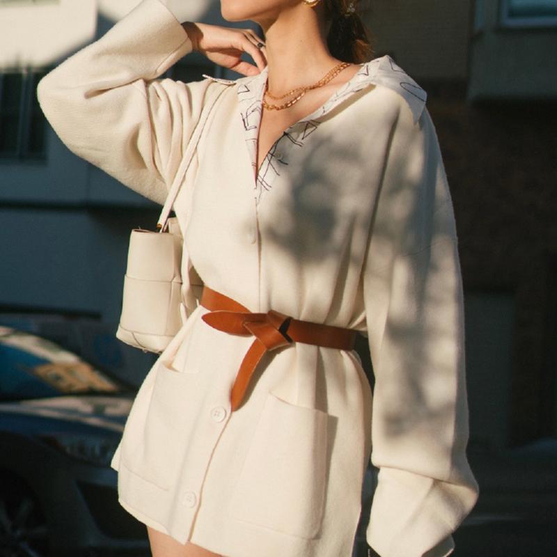 벨트 럭셔리 여성 얇은 시뮬레이션 가죽 매듭 패션 디자인 스트랩 여성 좋은 품질