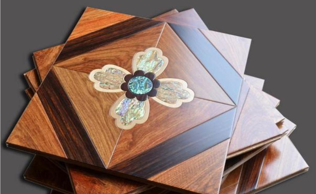 Shell Wood Phood Design Art Tiles House Plowing Роскошные Виллы Декор ИНТЕРЕСНЫЙ ДЕЛЕННЫЙ Паркет Маркетный Обои Обои Облицовки Панели Timber Kosso Medallion