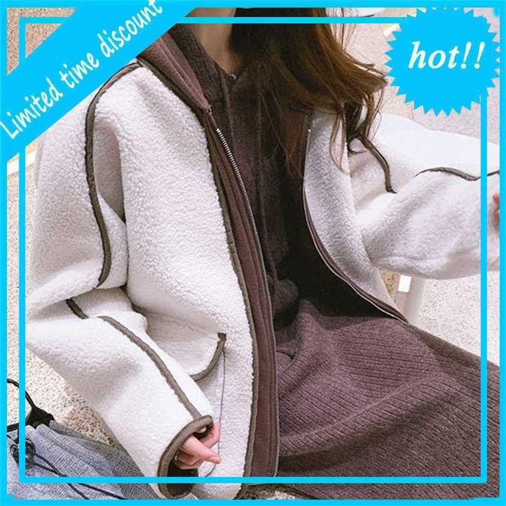 Mulheres retalhos soltos jaquetas feminina feminina oversized inverno jas doce coreano senhora herfst 2020