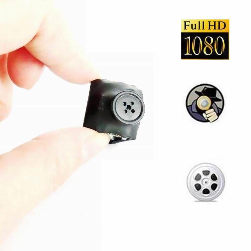 Ultra Nany Trageable Taschenkleidung Button Kamera HD 1080P Digital DV Camcorder Mini Cam Security DVR Video Recorder für Zuhause, Sport
