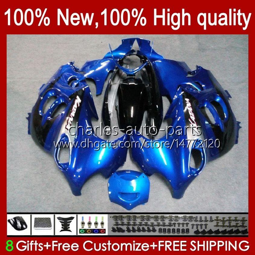 Body For SUZUKI KATANA GSX600F GSXF600 GSXF750 GSXF 600 750 CC 98 99 00 01 02 29No.39 600CC 750CC GSX750F GSXF-600 GSXF-750 1998 1999 2000 2001 2002 Fairing metal blue