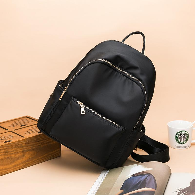 HBP The New 2021 Package Is Natural Capacity Women Backpack Style School Bags For Teenage Girls Leisure Ladies Soft Satchel Unisex Canvas