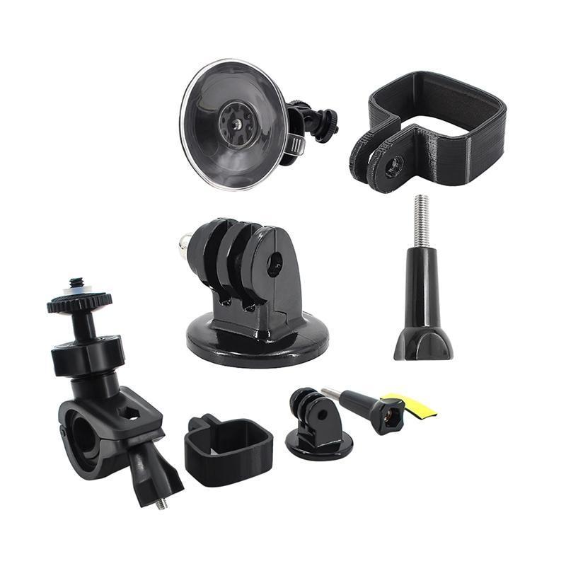 المثبتات 2 مجموعة ل fimi النخيل المحمولة gimbal كاميرا إصلاح قوس، حامل الدراجة شفط