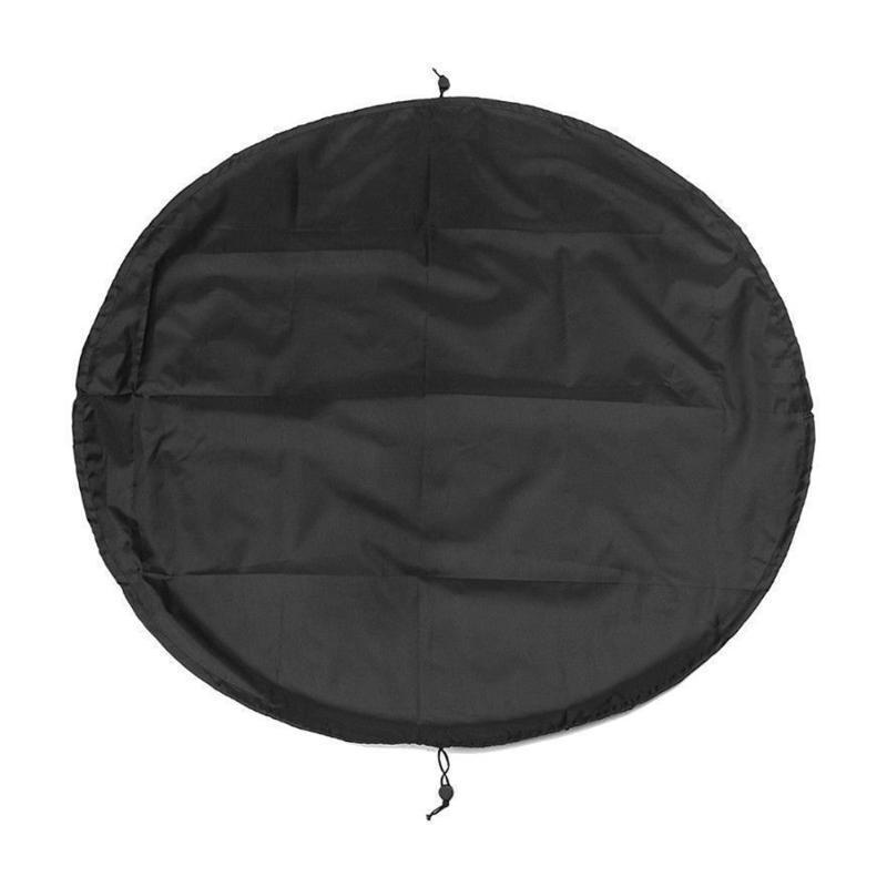 Accessoires de piscine Mat Sports nautiques Costume de plongée Changer de sac Carrinage Pack noir Étanche Pochette Stockage Wetsuit Surf Portable Polyester