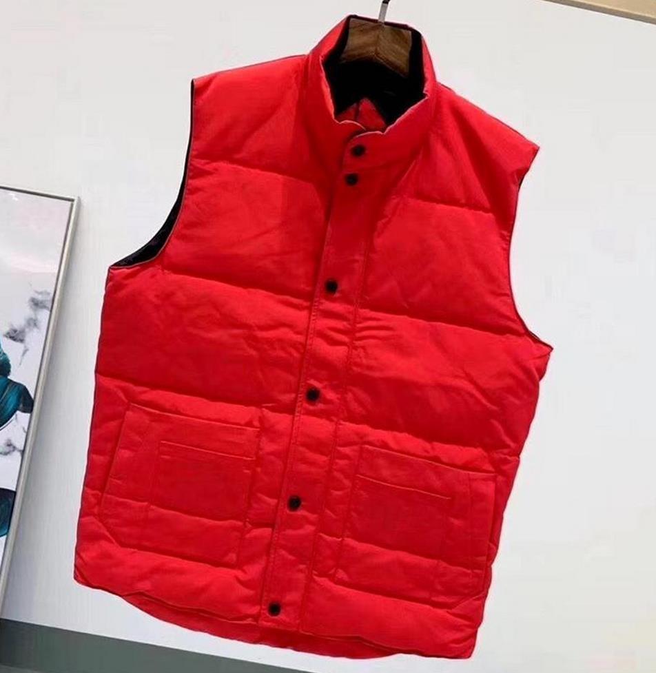 2021 Erkek Tasarımcı Yelek Kuzey Kış Erkekler Aşağı Puffer Ceket Casual Marka Hoodies Parkas Sıcak Kayak Orijinal Yelek S-XXL