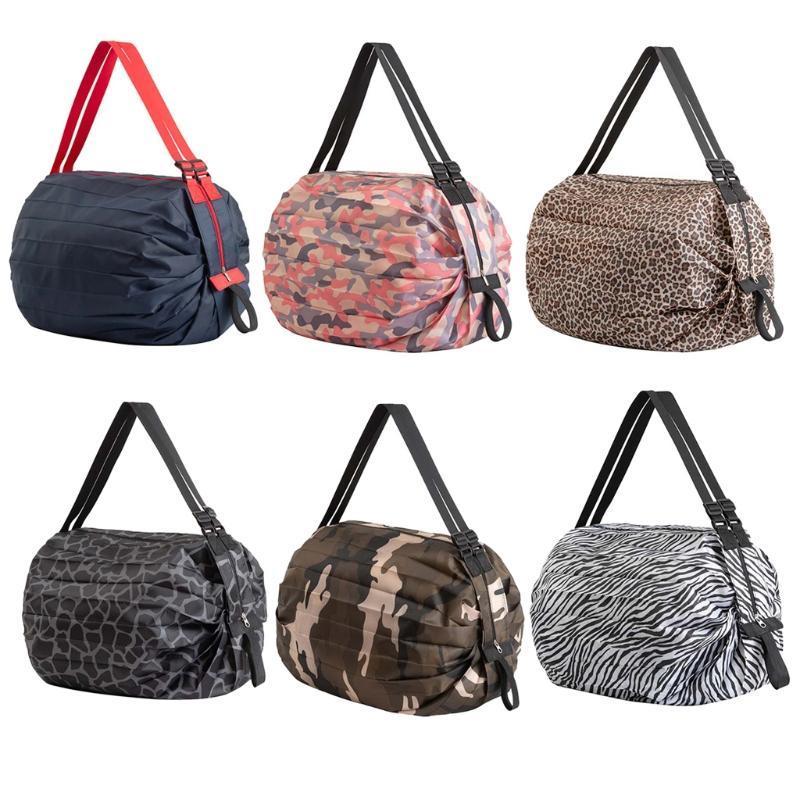 Multifunktionale Handliche Einkaufstasche Wiederverwendbare Tote-Lebensmittelgeschäft Faltbare Schulterbeutel Lagerung Organizer Handtasche