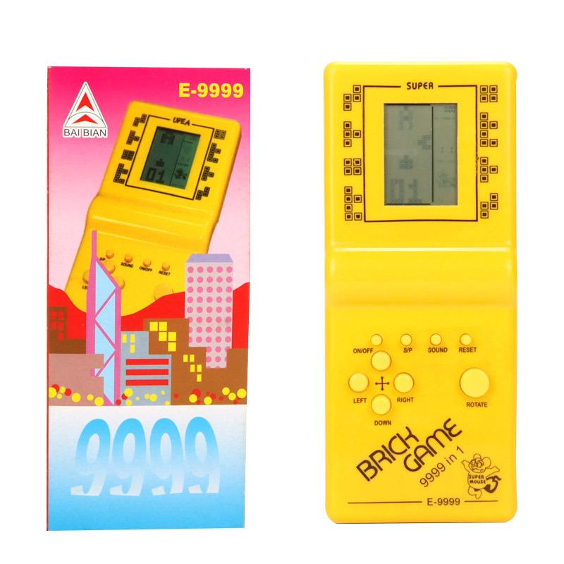 Tetris Hand Hand Nostalgic Games Player LCD Electronic Game Console Classic Pocket Childhood per bambini Giocattoli regalo