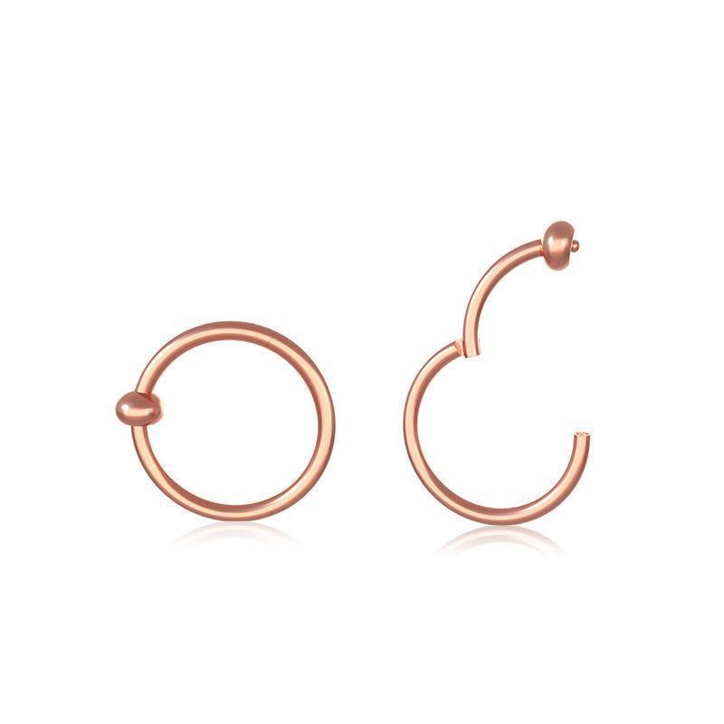 316 anello naso in acciaio inox anello anello anello universale ad anello universale naso anello piercing gioielli per uomini e donne