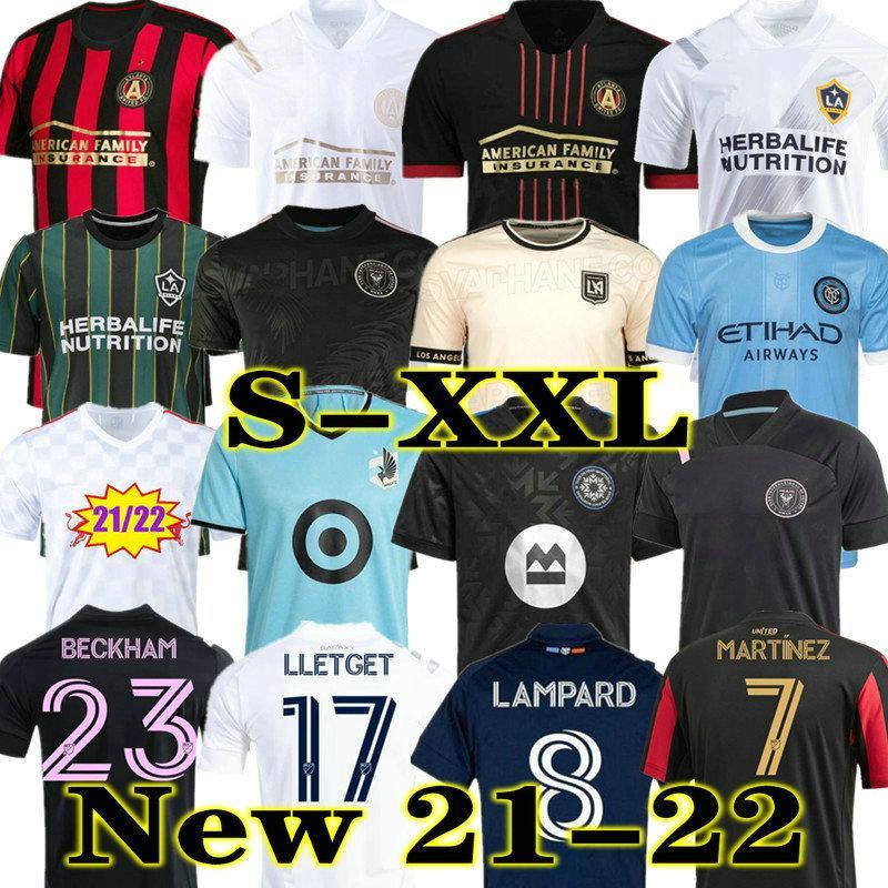 MLS 2021 2022 Los Angeles La Galaxy Inter Miami CF Soccer Jerseys 21 22 Cincinnati Atlanta D.C United Lafc Montreal Nashville Minnesota