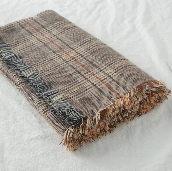 2021 Зимний плед шарф моды кашемировой шарф для мужчин и женщин 190 * 70см