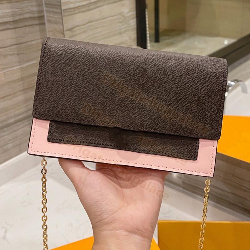 أعلى جودة 2021 المصممين الفاخرة سلسلة حقائب الكتف حقيبة يد رسول المرأة اليد أزياء خمر حقائب المطبوعة الكلاسيكية crossbody مخلب محفظة حقيبة صغيرة