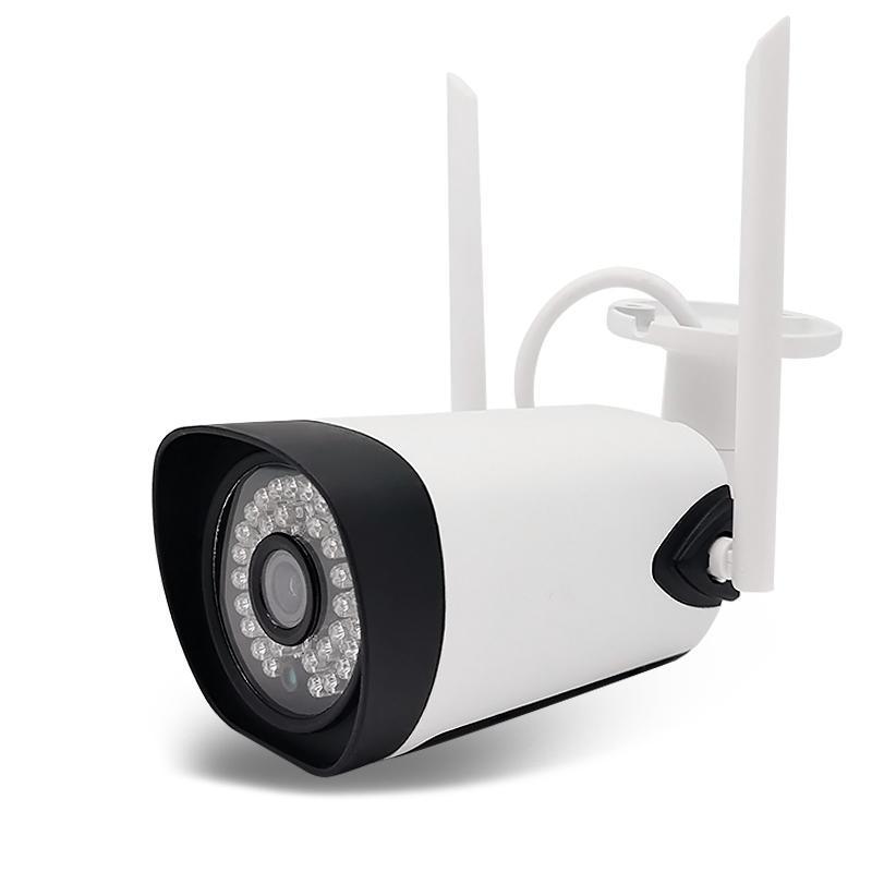 Câmeras Sem Fio WiFi 5MP HD Infravermelho Night Vision CCTV TF Cartão Voz-Intercom e 36Lamp Dual-Antena IP IP À Prova D 'Água