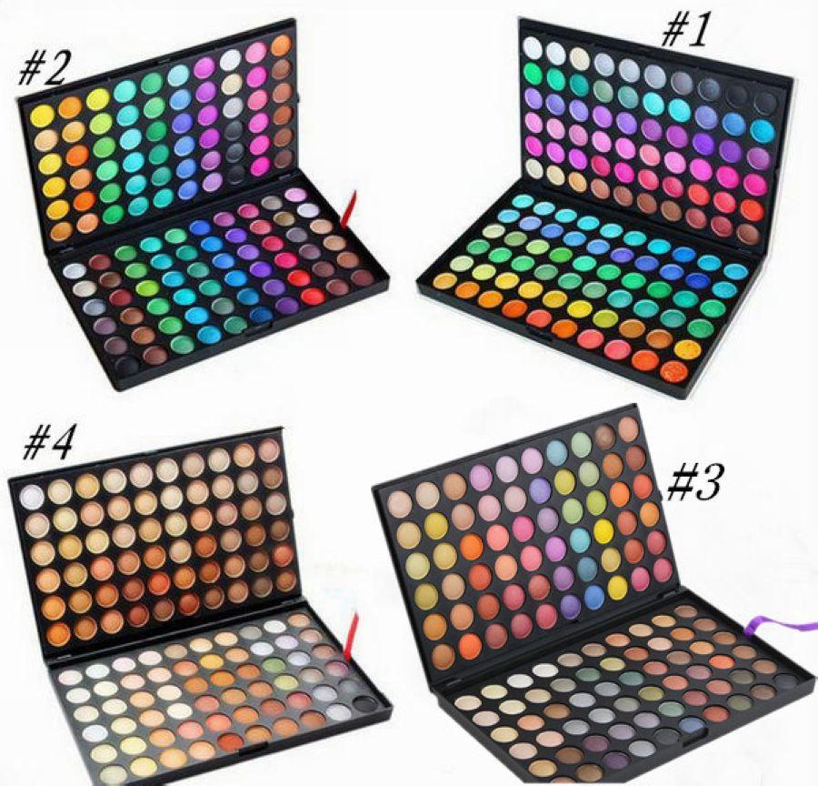 Frete grátis Epacket New Professional Maquiagem Eyes 120 Cores Olho Shadow Palette!