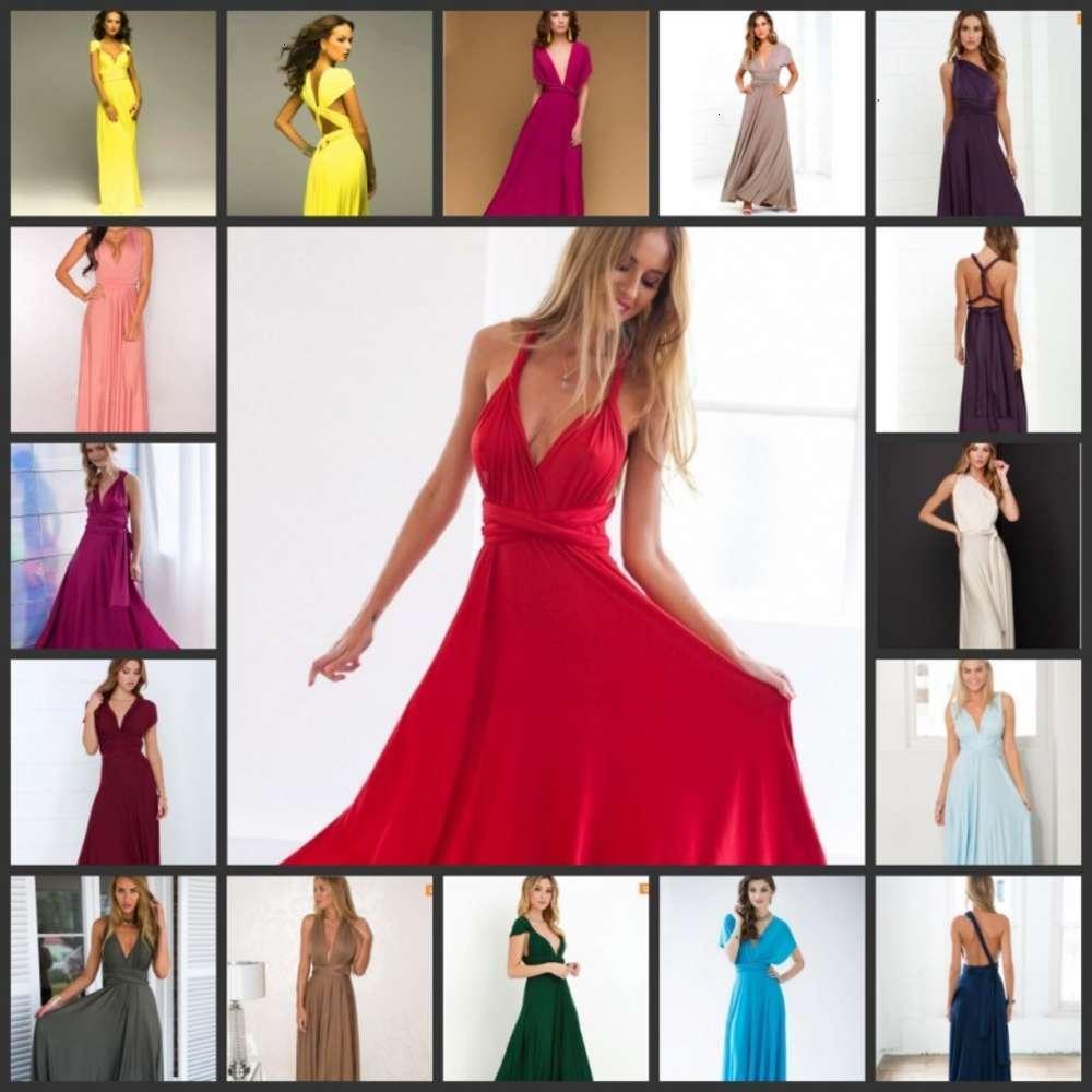 Todo tipo de estilo sexy y magnífico cinturón de condole es una línea de vendaje hueca, vestido rojo vestido de ocio 20 tipos de estilo