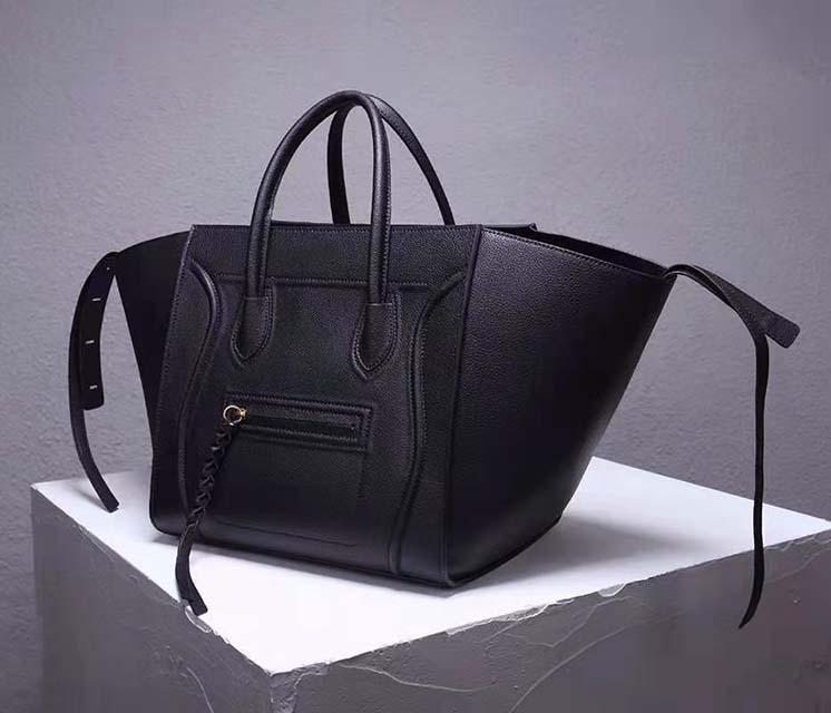 Totes Bags Bags Hombro Bolsas Negras Bolsas Cuero genuino Nueva Moda Qugqe