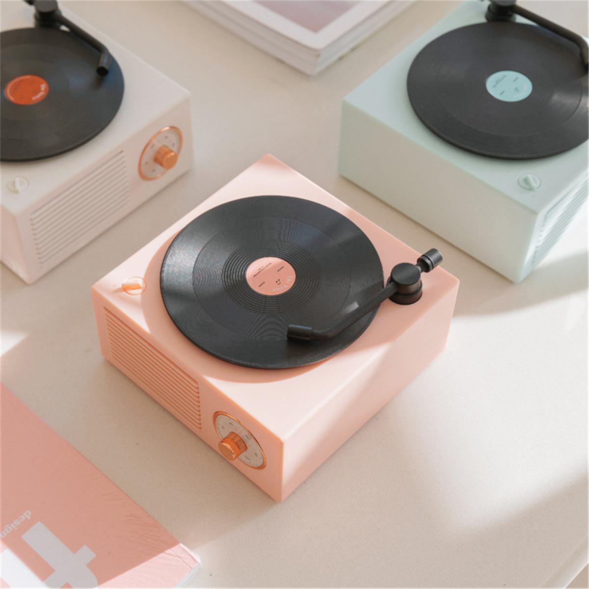 2021 최신 LP 레코드 휴대용 X10 블루투스 스피커 무선 블루투스 스피커 고품질 스피커