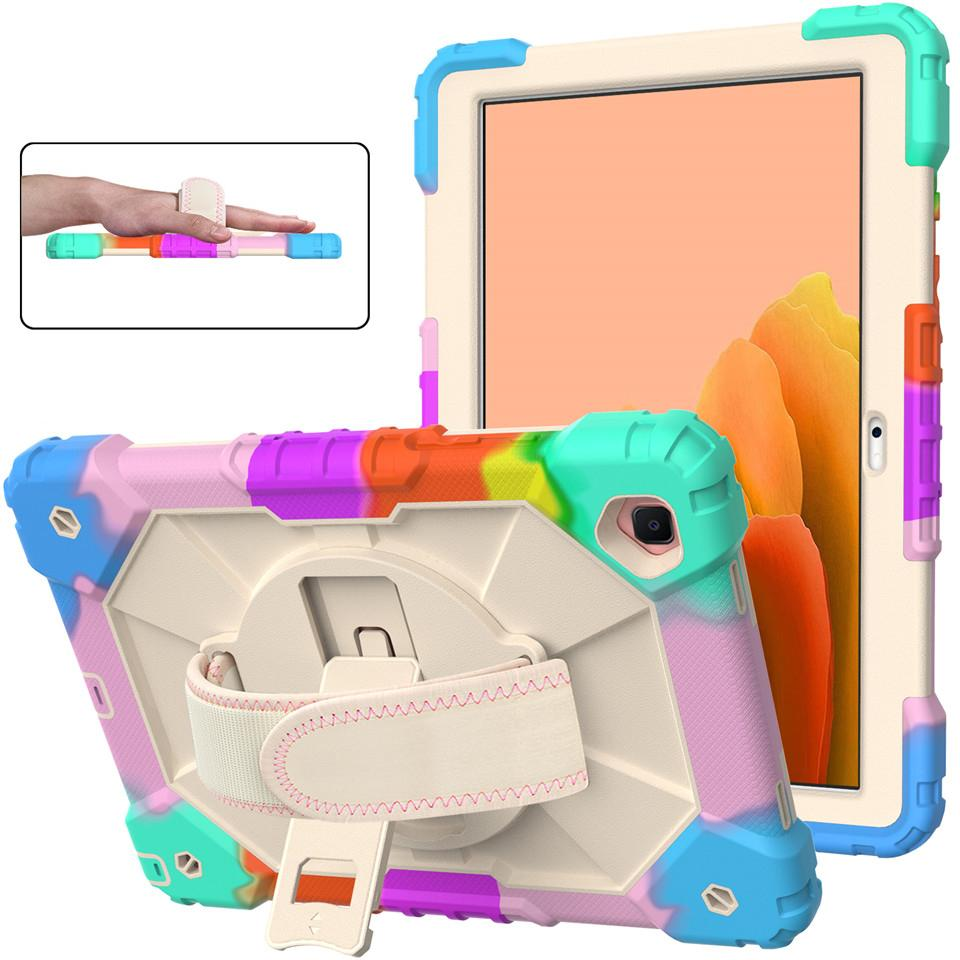 """3 in 1 Heavy Duty Shockproof case Cover hand strap for ipad 10.2 ipad7 ipad10.2 air4 samsung 10.4"""" T500 T505 8.7"""" T225 T220 HUAWEI T10 T10S"""