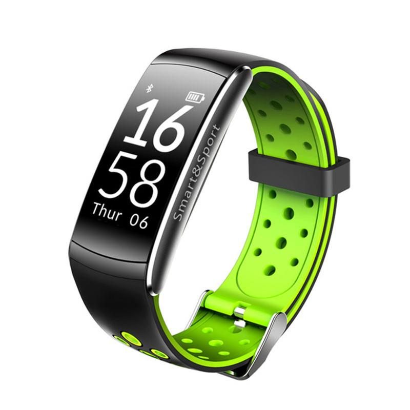 Q8 Smart Armband Blut Greesure Herzfrequenz Monitor Smart Watch Fitness Tracker Bluetooth Smart Armbanduhr Wasserdicht Für Android iPhone