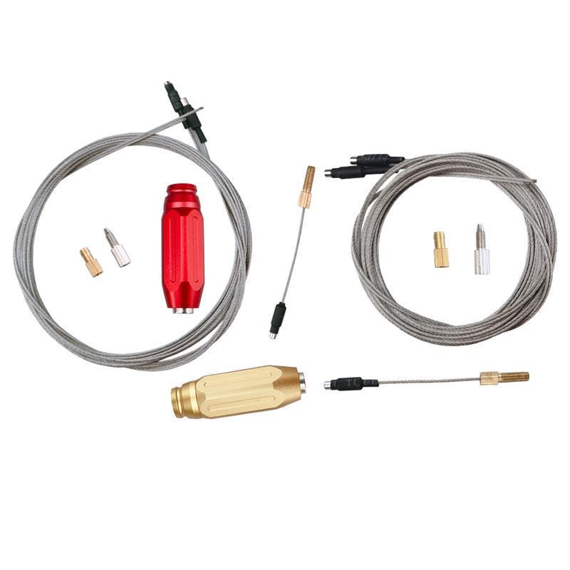 Herramientas Bicicleta Cable interno herramienta de enrutamiento Hidráulico Guía interna con alambres de imán Cables de marco de bicicletas