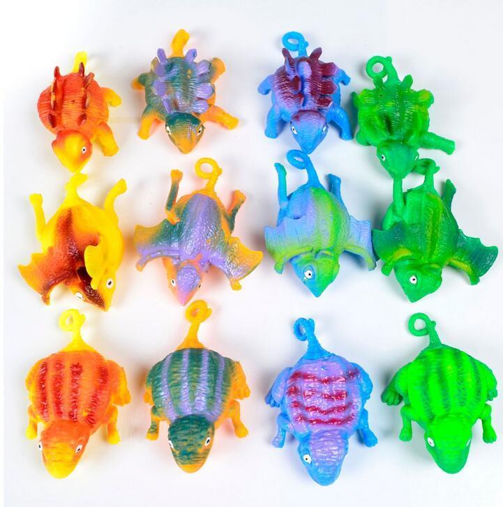 TPR kinder kreativität lustige weht dinosaurier spielzeug ballon ängstliche stress entlastung aufblasbare squeze ball kinder neuheit spielzeug party geschenk
