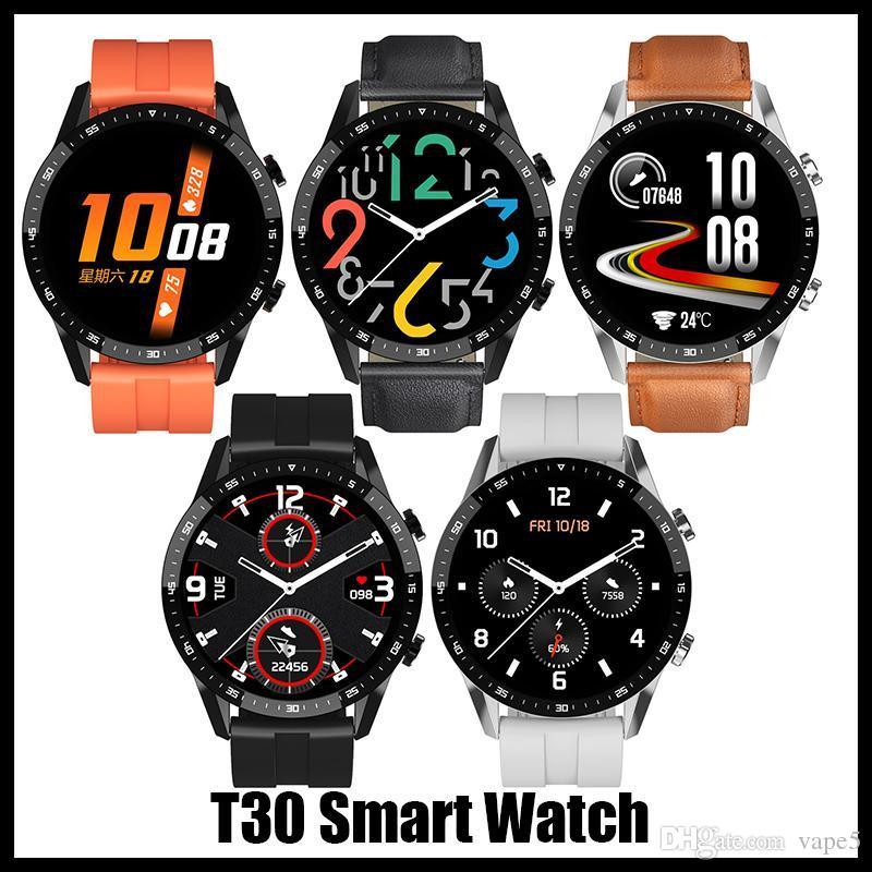 T30 Smart Watch Armbanduhren Android Watch Smart Sim Intelligent Mobiltelefon Schlafstatus mit DHL frei