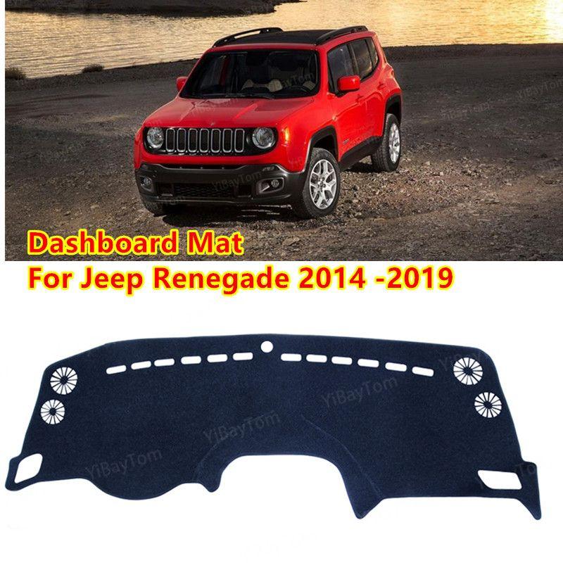 Für Jeep Renegade 2014 ~ 2019 bu Trailhawk Anti-Slip MAT SunShade Dashmat Schutz Teppich Dashboard Cover Pad Zubehör