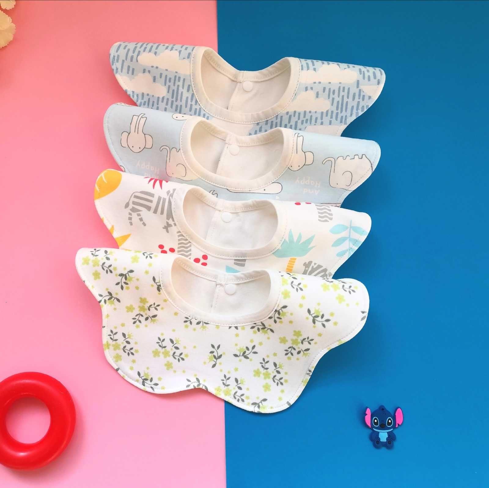 Herbst und Winter Neue Wasserdichte Speichel Tuch 360 Rotary Baby Lätzchen verdickt, um die Essensack von Kindern zu vergrößern