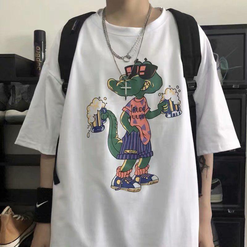 Camicia da uomo a maniche corte a manica corta T-shirt da uomo 2021 vestiti estivi della nuova tendenza
