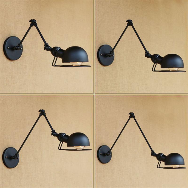 مصابيح الجدار LOFT E27 مصباح الذراع الميكانيكية فرنسا Jielde Reminisced قابل للسحب